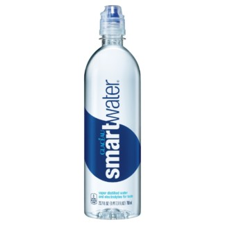Glaceau Smart Water and Electrolytes for taste